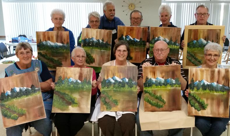 Oil Painting Classes In The Woodlands Spring And Tomball Texas